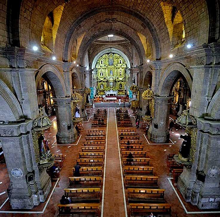 Inside San Francisco Church